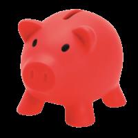 Shalom MFB - Red Piggy Bank